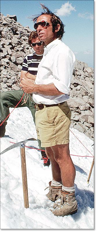 Yvon Chouinard. Mt. Hood - 1975